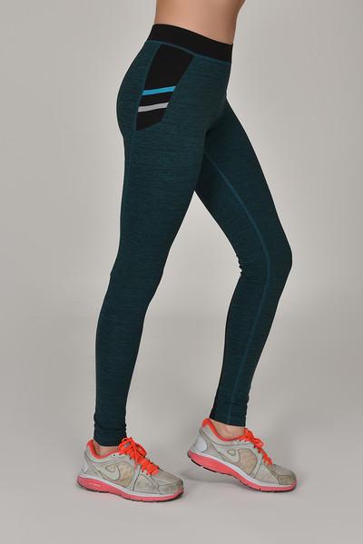 BİLCEE - Bilcee Tropikal Toparlayıcı Kadın Sporcu Tayt AW-6570 (1)