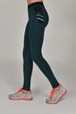 Bilcee Tropikal Toparlayıcı Kadın Sporcu Tayt AW-6570 - Thumbnail