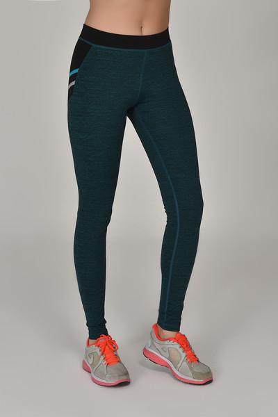 BİLCEE - Bilcee Tropikal Toparlayıcı Kadın Sporcu Tayt AW-6570