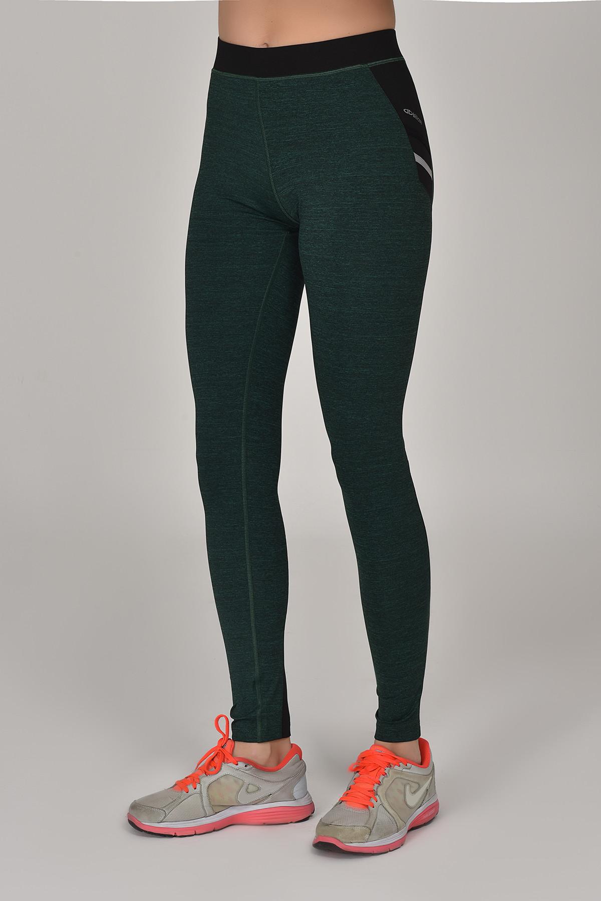 Bilcee Yeşil Kadın Sporcu Tayt AW-6570 BİLCEE
