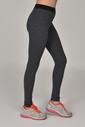 Bilcee Siyah Melanj Toparlayıcı Kadın Sporcu Tayt AW-6571 - Thumbnail