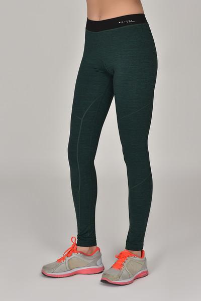 BİLCEE - Bilcee Yeşil Toparlayıcı Kadın Sporcu Tayt AW-6571 (1)