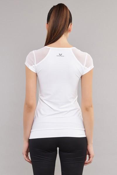 BİLCEE - Bilcee Beyaz Kadın T-Shirt AS-5071 (1)