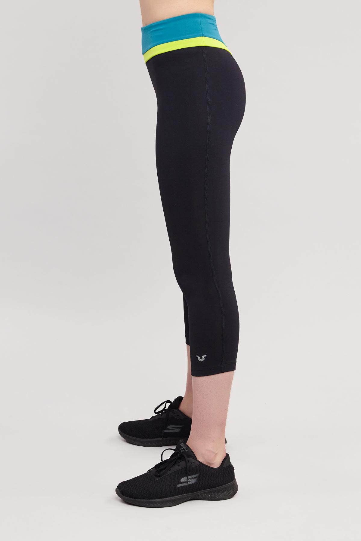 Bilcee 3/4 Kısa Sporcu Kadın Taytı BS-7118 BİLCEE