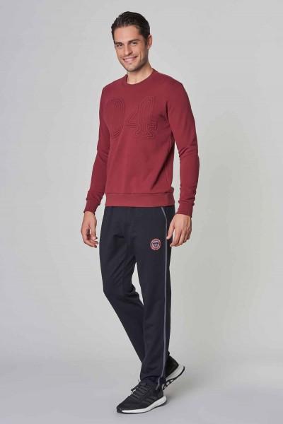BİLCEE - Bilcee Bordo Kışlık Erkek Sweatshirt DW-1250 (1)