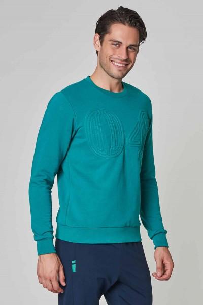 BİLCEE - Bilcee Mavi Kışlık Erkek Sweatshirt DW-1250 (1)