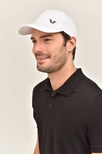 BİLCEE - Bilcee Unisex Beyaz Spor Şapka CB-1401