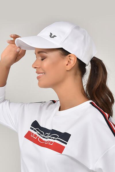 BİLCEE - Bilcee Unisex Beyaz Spor Şapka CB-1401 (1)