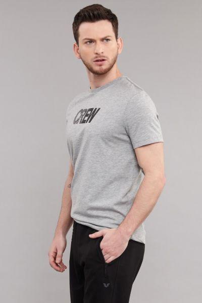 BİLCEE - Bilcee Gri Pamuklu Erkek T-Shirt DW-2220 (1)