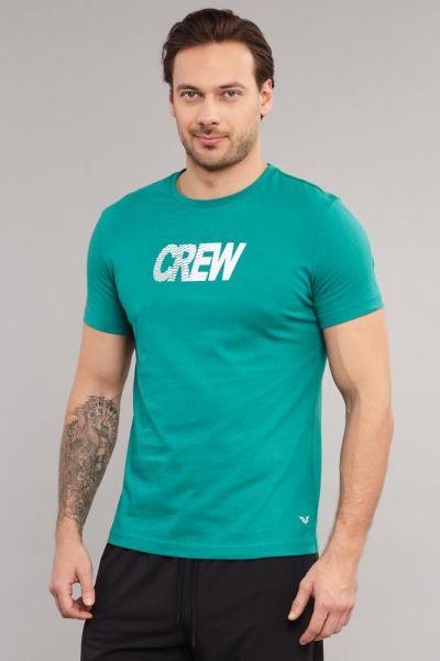 BİLCEE - Bilcee Mavi Pamuklu Erkek T-Shirt DW-2220