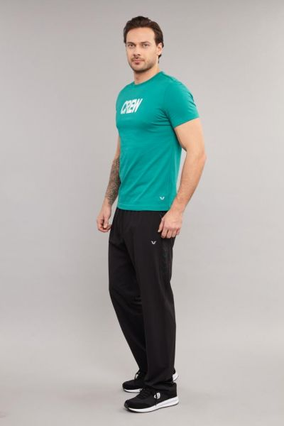 BİLCEE - Bilcee Mavi Pamuklu Erkek T-Shirt DW-2220 (1)