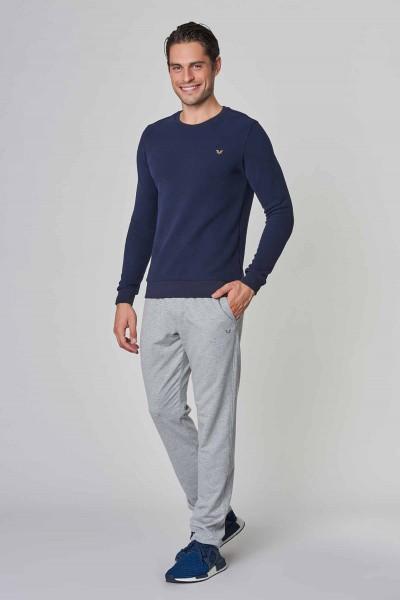 BİLCEE - Bilcee Lacivert Erkek Sweatshirt DW-2225 (1)