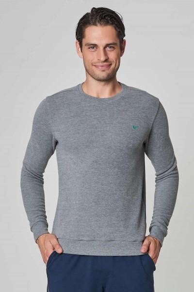 BİLCEE - Bilcee Gri Erkek Sweatshirt DW-2225