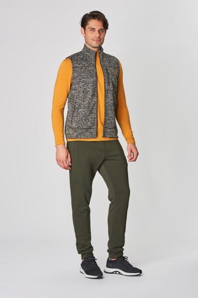 BİLCEE - Bilcee Antrasit Polyester Erkek Yelek DW-2230 (1)