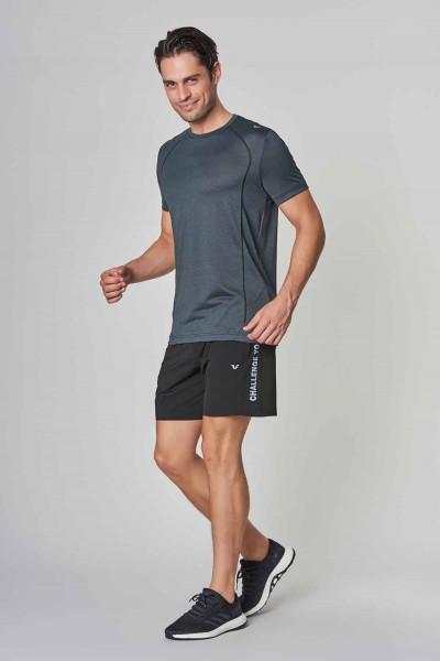 BİLCEE - Bilcee Antrasit Erkek Antrenman T-Shirt DW-2272 (1)