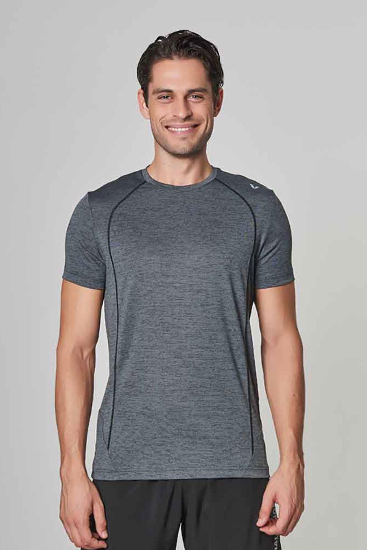 Bilcee Erkek Antrenman T-Shirt DW-2272 BİLCEE