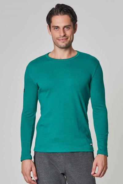 BİLCEE - Bilcee Mavi Pamuk/Poly Erkek Sweatshirt DW-2324