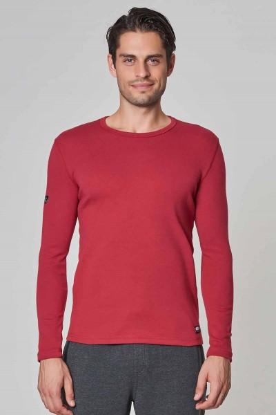 BİLCEE - Bilcee Bordo Pamuk/Poly Erkek Sweatshirt DW-2324