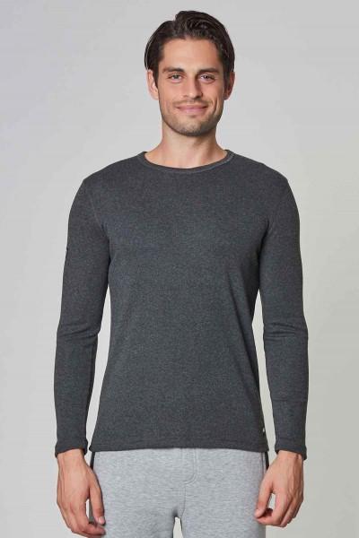 BİLCEE - Bilcee Antrasit Pamuk/Poly Erkek Sweatshirt DW-2324