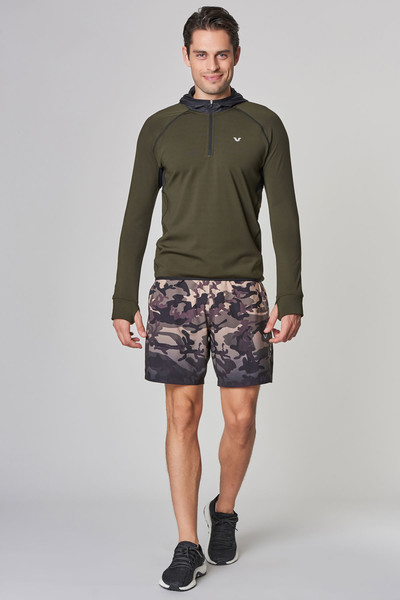 BİLCEE - Bilcee Yeşil Pamuklu Erkek Sweatshirt DW-2429 (1)