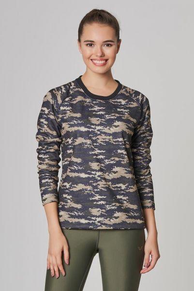 BİLCEE - Bilcee 2 İplik Kadın Sweatshirt DW-2712