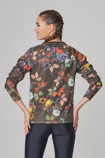 BİLCEE - Bilcee Kahverengi 2 İplik Kadın Sweatshirt DW-2712 (1)
