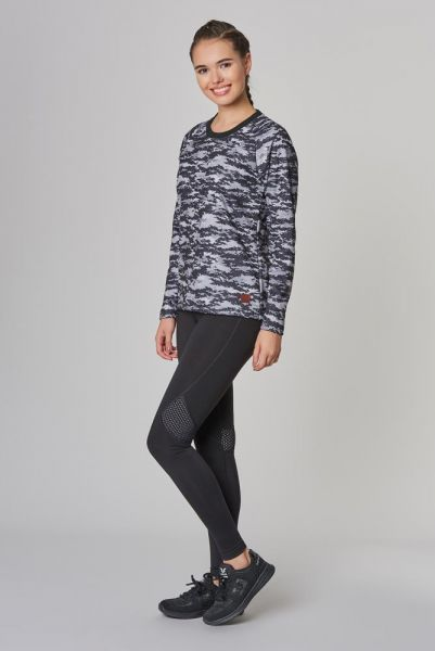 BİLCEE - Bilcee Siyah 2 İplik Kadın Sweatshirt DW-2712 (1)
