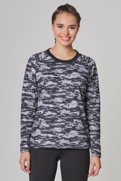 BİLCEE - Bilcee Siyah 2 İplik Kadın Sweatshirt DW-2712