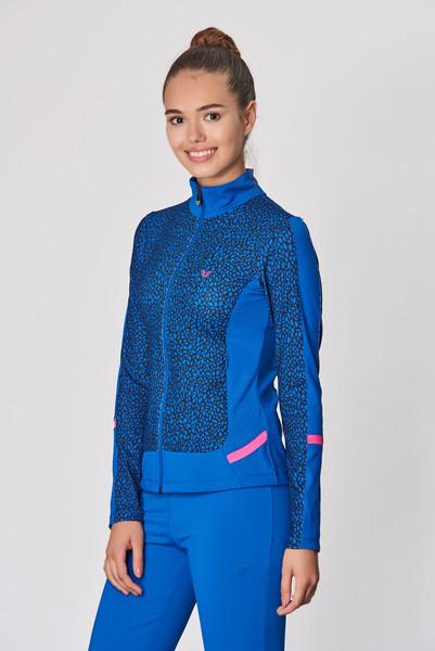 BİLCEE - Bilcee Mavi Likralı Kadın Eşofman Takımı DW-2729 (1)