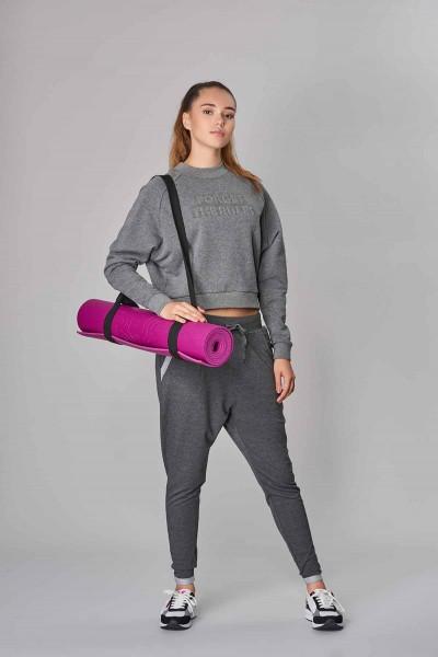 BİLCEE - Bilcee Gri Kışlık Kadın Sweatshirt DW-2814 (1)