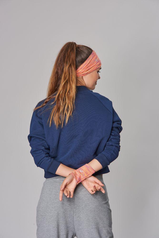 BİLCEE - Bilcee Lacivert Kışlık Kadın Sweatshirt DW-2814 (1)