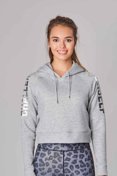 BİLCEE - Bilcee Gri Kışlık Kadın Sweatshirt DW-2839