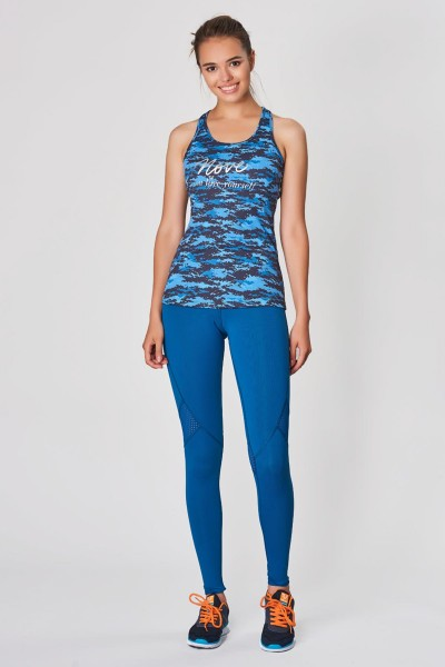 BİLCEE - Bilcee Mavi Kadın Suplex Atlet DW-2840 (1)