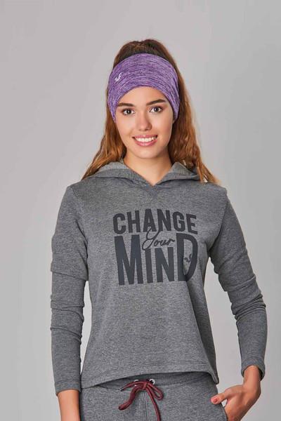 BİLCEE - Bilcee Gri Kışlık Kadın Sweatshirt DW-2860