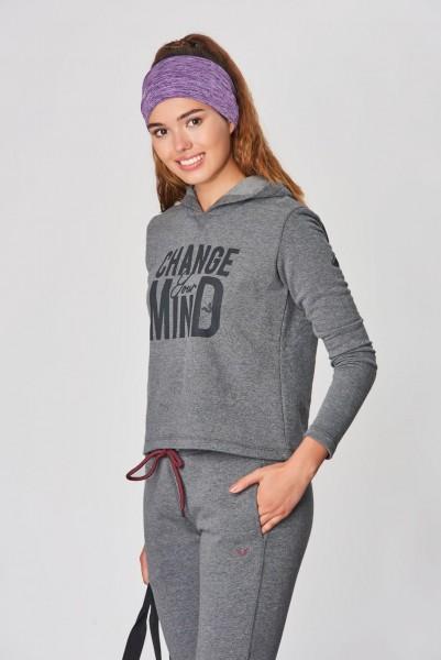 BİLCEE - Bilcee Kadın Kışlık Sweatshirt DW-2860 (1)