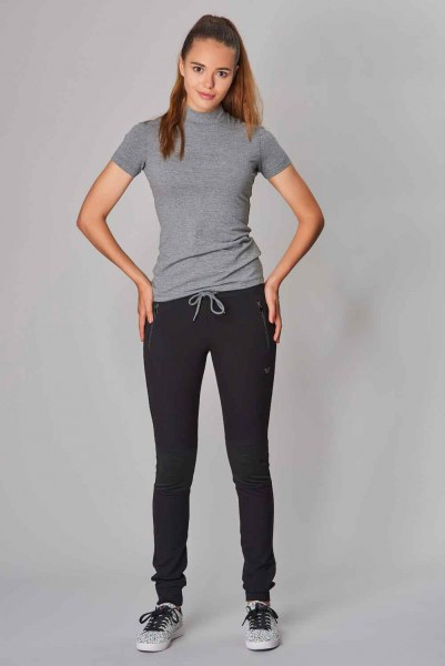 BİLCEE - Bilcee Kadın Likralı Pamuklu T-Shirt DW-2866