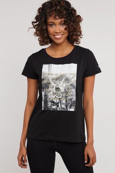 BİLCEE - Bilcee Pamuklu Kadın T-Shirt ES- 3597