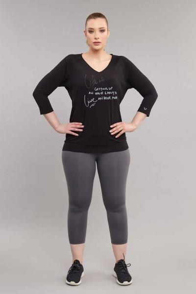 BİLCEE - Bilcee Büyük Beden Kadın T-Shirt ES-1880 (1)