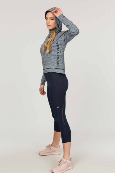 BİLCEE - Bilcee Gri Kadın Sweatshirt ES-3503 (1)