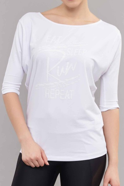 BİLCEE - Bilcee Kadın Antrenman T-Shirt ES-3504 (1)