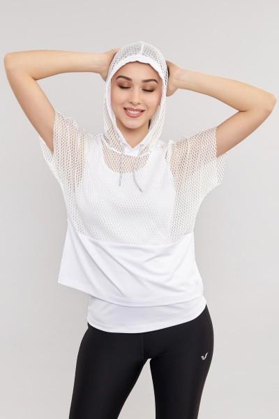 BİLCEE - Bilcee Kadın Antrenman T-Shirt ES-3541