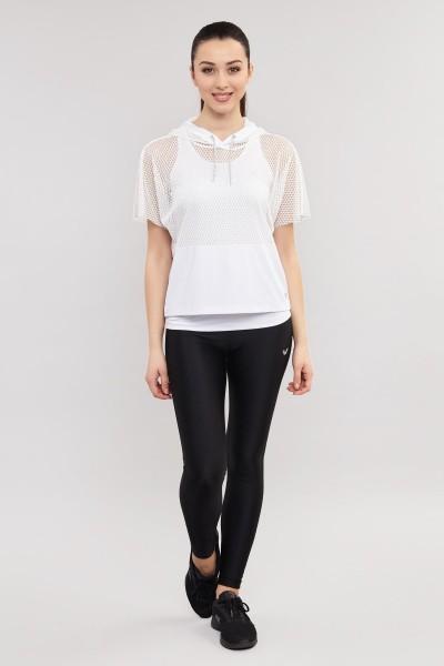 BİLCEE - Bilcee Beyaz Kadın Antrenman T-Shirt ES-3541 (1)