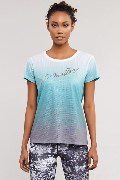 BİLCEE - Bilcee Kadın Antrenman T-Shirt ES-3549