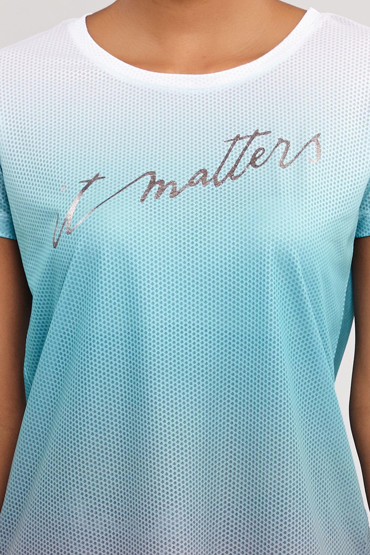 Bilcee Kadın Antrenman T-Shirt ES-3549 BİLCEE