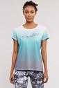 Bilcee Mavi Kadın Antrenman T-Shirt ES-3549 - Thumbnail