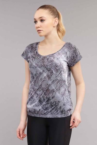 BİLCEE - Bilcee Likralı Pamuklu Kadın T-Shirt ES-3571