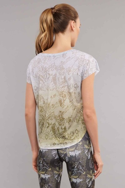 BİLCEE - Bilcee Kadın Pamuk/Poly T-Shirt ES-3572 (1)