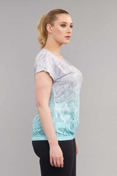 BİLCEE - Bilcee Büyük Beden Kadın T-Shirt ES-3586 (1)