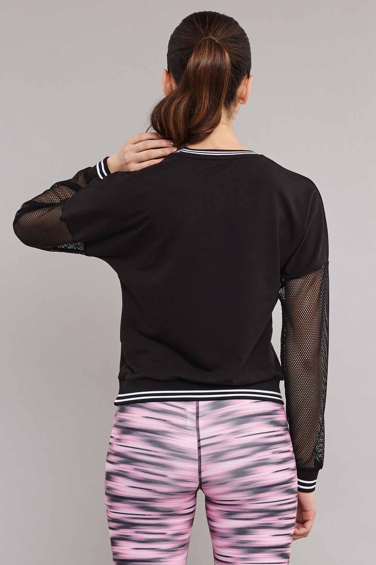 Bilcee Viskon Kadın Sweatshirt ES-3587 BİLCEE