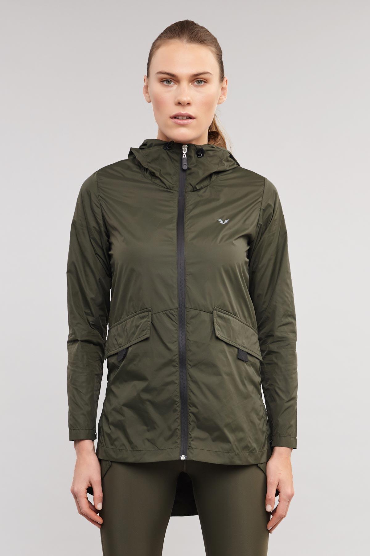 Bilcee Yeşil Kadın Yağmurluk ES-3590 BİLCEE